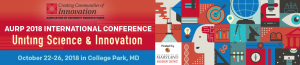 AURP's 2018 International Conference (IC2018) @ The Hotel at The University of Maryland | College Park | Maryland | United States
